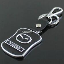 Mazda Brand Keyring UK Seller Black Silver Key Ring Premium Quality