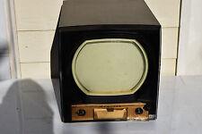 New listing Original 1950 Antique Television Admiral Bakelite Black Tv Cabinet Art Deco Prop