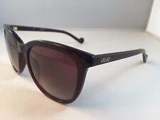 New Authentic Liu Jo LJ 645S sunglasses 204 Chocolate Pattern
