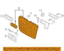 AUDI OEM 15-16 A8 Quattro-Grille 4H0853651ABT94