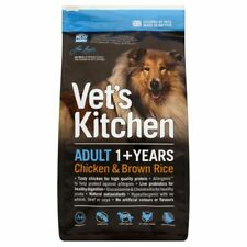 Adult Dry Dog Food Chicken & Brown Rice Vet's Kitchen Complete Kibble Quality