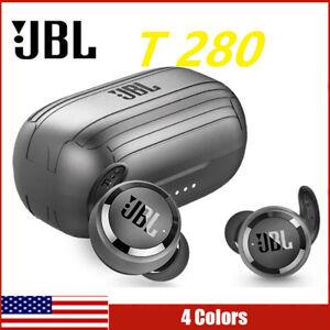 JBL T280 TWS True Wireless Headphones Stereo Super Bass Bluetooth 5.0