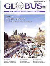 GLOBUS 1/2011 - VDA Zeitschrift für Deutsche Kulturbeziehungen im Ausland