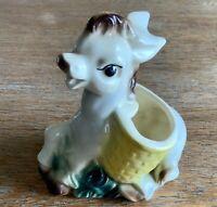 Vintage Shawnee Ceramic Pottery Donkey Horse Planter Vase #722 USA Succulents