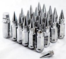 "20"" 12X1.25 Aodhan XT92 SPIKED Lug Nuts Chrome FITS NISSAN 240SX S13-S15 300ZX"