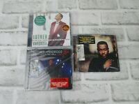 Lot of 3 LUTHER VANDROSS CDs  Radio City Music Hall Dance With My Father Holiday