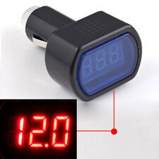 1x 12V/24V Digital Voltage Gauge Volt LED Car System Battery Voltmeter Meter