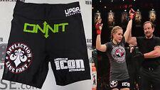 Anastasia Yankova Signed Bellator 161 Fight Used Worn Shorts BAS Beckett COA MMA