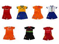 Football Soccer Kits Short Sleeve Kids boys Youth 1-3Y