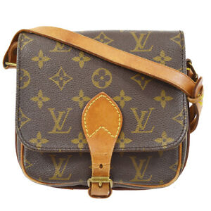 LOUIS VUITTON CARTOUCHIERE PM CROSS BODY BAG PURSE M51254 883SL 92749