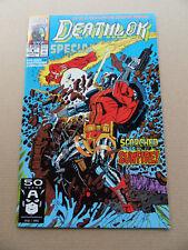 Deathlok Special 4 of 4 . SIGNED . Marvel 1981 . VF