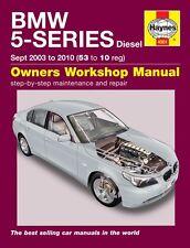 Haynes Owners Workshop Manual BMW 5 Series Diesel (2003-2010) SERVICE REPAIR