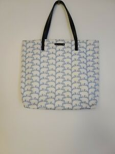 Kate Spade Polar Bear Bon Shopping Tote Bag Cold Comforts Purse Daycation