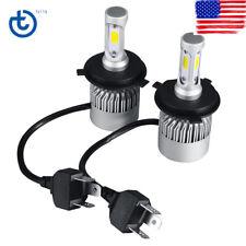 Pair H4 9003 HB2 1300W 195000LM CREE LED Headlight Bulbs Kit Hi/Lo 6000K White