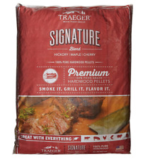 Traeger Gourmet Blend 33 lbs. Wood Pellets, Hickory and Cherry BBQ Flavor Maple