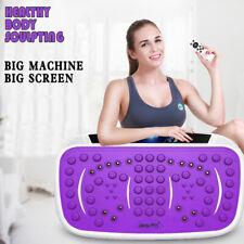 180W Slim Vibration Fitness Platform Machine Plate Body Shaper Exercise Massage