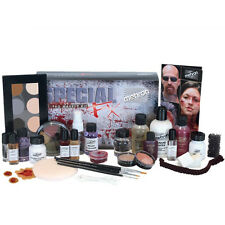 Mehron Special Effects FX Profesional Pro Complete Stage Theater Makeup Kit Set