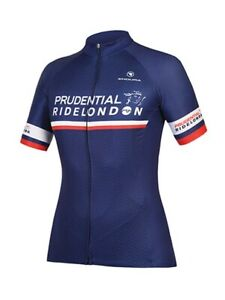 RIDE LONDON 100 PRUDENTIAL CYCLING  JERSEY TOP WOMENS LADIES SIZE MEDIUM NEW
