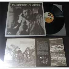 JEAN-PIERRE CHABROL - Raconte... Rare LP French Rural Poetry 1965