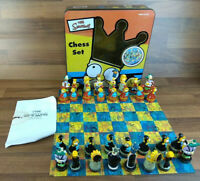 The Simpsons 2000 Collectable Chess Set Complete