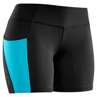 """Hylete Accent II 5"""" Short Black - Electric Blue - Small"""