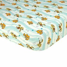 "Disney Nemo Baby Fitted Crib Sheet ONLY-  52"" x 28"" SEE DETAILS 👓"