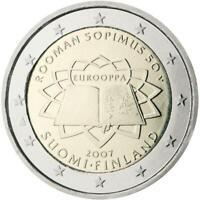 2 euro Finlandia 2007 TDR Trattato di Roma