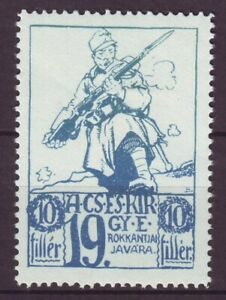 s5656/ Germany-Austria WW1 Poster Stamp Label # Javara Soldier (today Hungary)