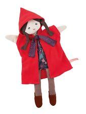 Moulin Roty 711344 Marionetta cappuccetto rosso h 37 cm