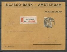 35 CT.VETH NR. 159 OP R-COUVERT AMSTERDAM -  DUITSLAND 15.V.1925  Zv854