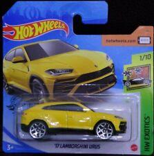 Hot wheels '17 Lamborghini Urus amarillo HW Exotics 1/10 2020 213/250 GHB36-D521