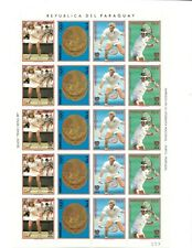 SPECIAL LOT Paraguay 1988 2260 - Olympic Tennis - 5 Full Sheets - MNH