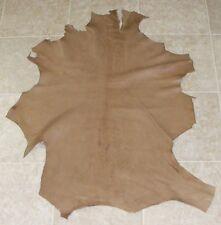 Yxa6625-1) Hide of Natural Brown Lambskin Leather Hides Skin