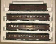 AHM Rivarossi 1920's Pennsylvania HO Heavyweight 'A' Train Set with Interiors.