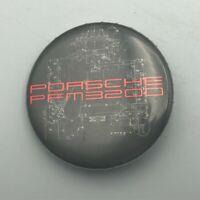 """PORSCHE PFM 3200 Airplane Engine 1-1/2"""" Button Pin Pinback 1980's Vintage  S7"""