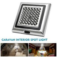 42 LED Indoor Roof Ceiling Interior Lamp Dome Light Car caravan camping DC 12V