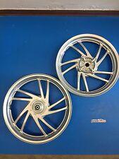 Coppia Cerchi Wheel Rims Honda SH 125 150 dal 2013 al 2016 Grigio con ABS