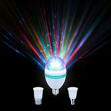 KAM Moonbulb Rotierend Leuchtmittel RGB mit LED Discokugel Leucht Effekt NEU