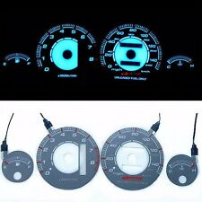 INDIGLO GLOW GAUGE DASH GRAY FACE EL CLUSTER FOR Acura Integra 94-99 MPH