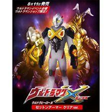 "Ultraman Festival 2015 limited X Zetton Clear 5.5"" figure BANDAI New Japan"
