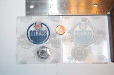 """Edmonton Oilers 2"""" Lextra Patch 1986-1996 Primary Logo Hockey"""