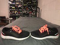 Reebok Z Run Womens Athletic Running Training Shoes Size 7.5 Black Pink Gray