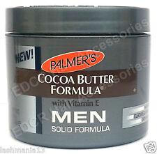 New Palmer's Cocoa Butter Formula With Vitamin E Men Solid Formula 100g
