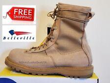 BRAND NEW - Belleville 790G Men's Waterproof Military Combat Boots TAN - Sz 13-R
