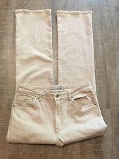 CHICO'S Women's Pants Tan Khaki Chinos Size 1.5 Light Denim Jeans Pants Straight