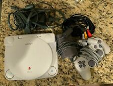 Sony Playstation 1 Psone Ps1 Combo! with 5 inch LCD-Screen! Rare! SCPH-141