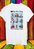 The Wu Tang Wu-Tang-Clan East Coast Rappers Hip Hop Men Women Unisex T-shirt 13