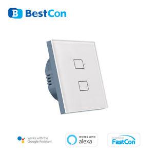 Smart Home EU Stly Wall Light Switch APP Intelligent Remote Google Alexa IFTTT