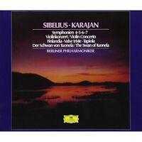 HERBERT VON KARAJAN-SIBELIUS: SYMPHONIES; VIOLIN...-JAPAN 2 SHM-SACD Ltd/Ed