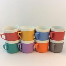 Sunfrost Therm O Ware Insulated Cups Mugs Set of 8 Hot Cold Clean Vtg